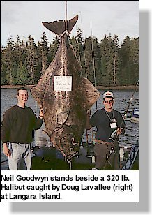 Biggest Halibut Caught In British Columbia On Rod Amp Reel