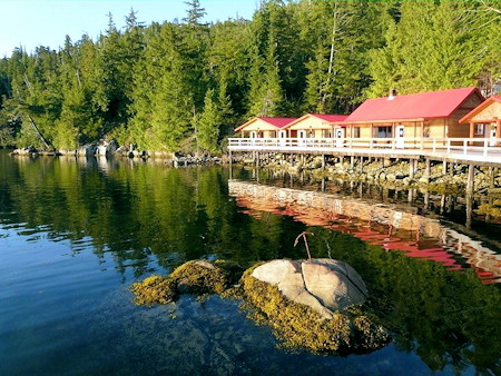 Duncanby lodge bc salmon fishing resort rivers inlet for Canada fishing resorts