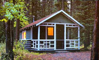 Johnston Canyon Resort Resort Cabins Amp Chalets Bow